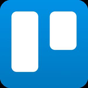 Trello productivity software app logo